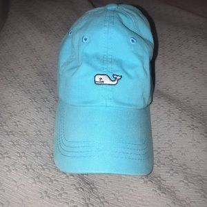 Teal vineyard vines baseball cap